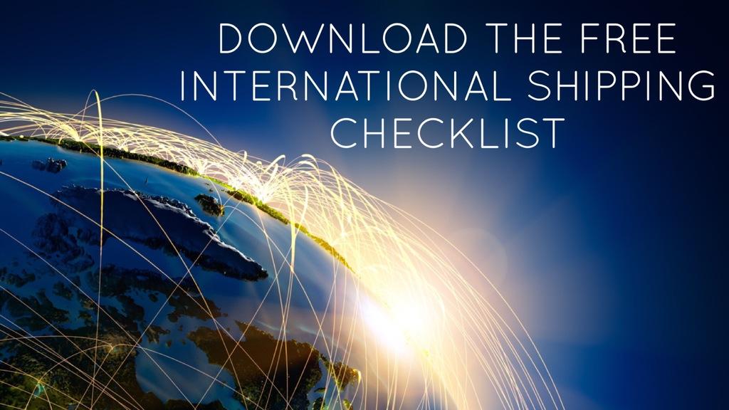 WTA international logistics experts - free international shipping checklist
