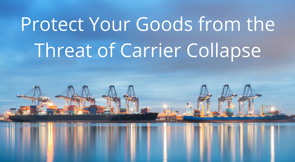 Protect your goods from the threat of carrier collapse with WTA