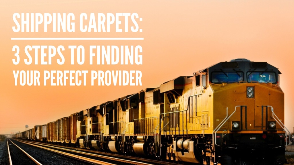 WTA Global Logistics Experts - Shipping Carpets: 3 Steps to Finding Your Perfect Provider
