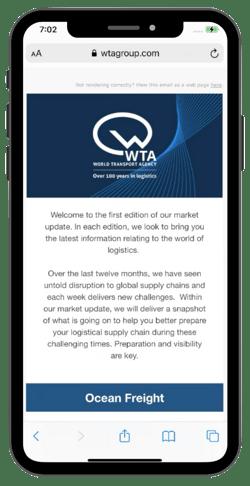 WTA Market Updates Email