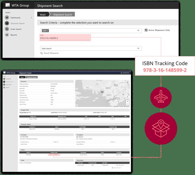 WTA ISBN Tracking Code