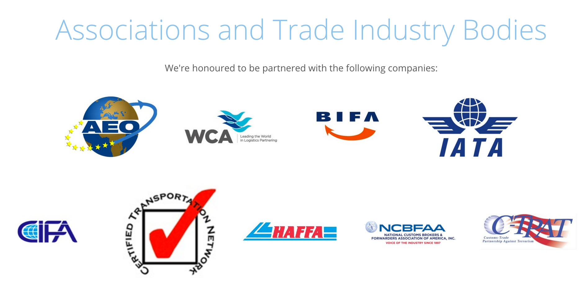 WTA Group International Logistics Experts Affiliates