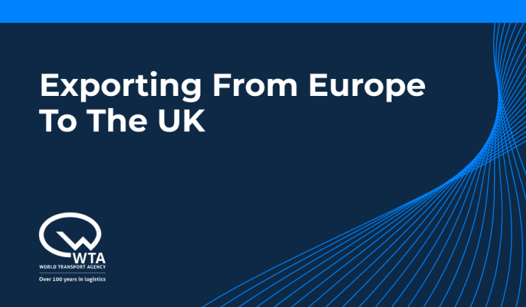 Exporting from Europe to the UK